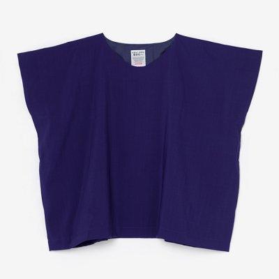 モスリン 四角衣/花紫(はなむらさき)