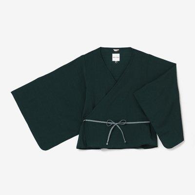 モスリン 小袖寛衣/小鴨色(こがもいろ)