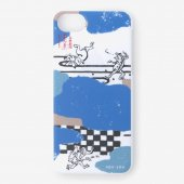 iPhone6/6s/7/8 テキスタイルカバー/雲間と鳥獣戯画