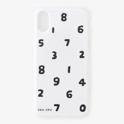 iPhone X/XS テキスタイルカバー/SO-SU-U つくも×濡羽色(ぬればいろ)