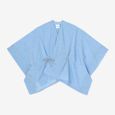 シャンブレー織 きさらぎ 短丈/空色(そらいろ)