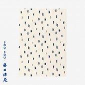 SOU・SOU×藤田染苑 藍捺染 手ぬぐい(ひめ丈)/ちぎれ雲