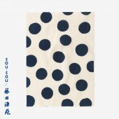SOU・SOU×藤田染苑 藍捺染 手ぬぐい(ひめ丈)/すいぎょく