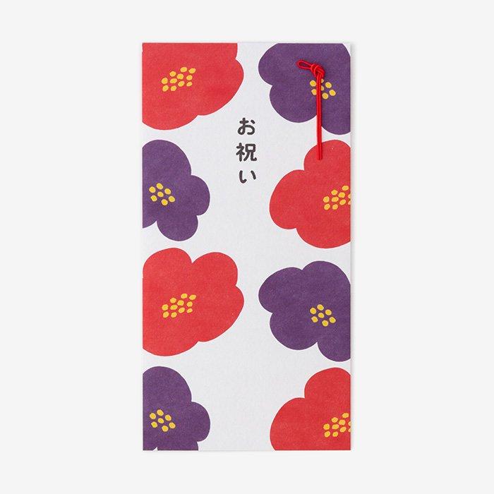 簡易金封/花椿(はなつばき)