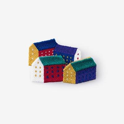 SOU・SOU×丸眞 刺繍飾り/北の国(きたのくに)