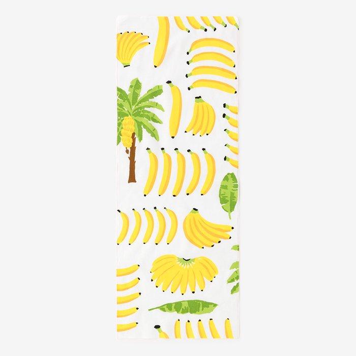 伊勢木綿 手ぬぐい/バナナ
