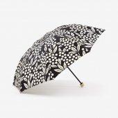 SOU・SOU×MOONBAT 洋傘 折りたたみ(雨用)/南天竹 濡羽色(なんてんちく ぬればいろ)