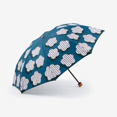 SOU・SOU×MOONBAT 洋傘 折りたたみ(雨用)/明かり窓 明け方(あけがた)