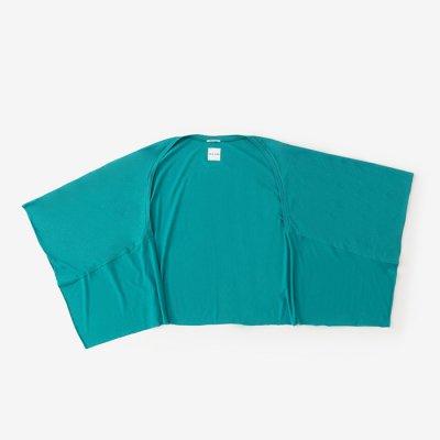 綿モダール むささび 短丈/常磐緑(ときわみどり)