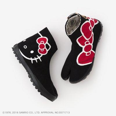 貼付地下足袋/Hello Kitty×SOU・SOU 濡羽色