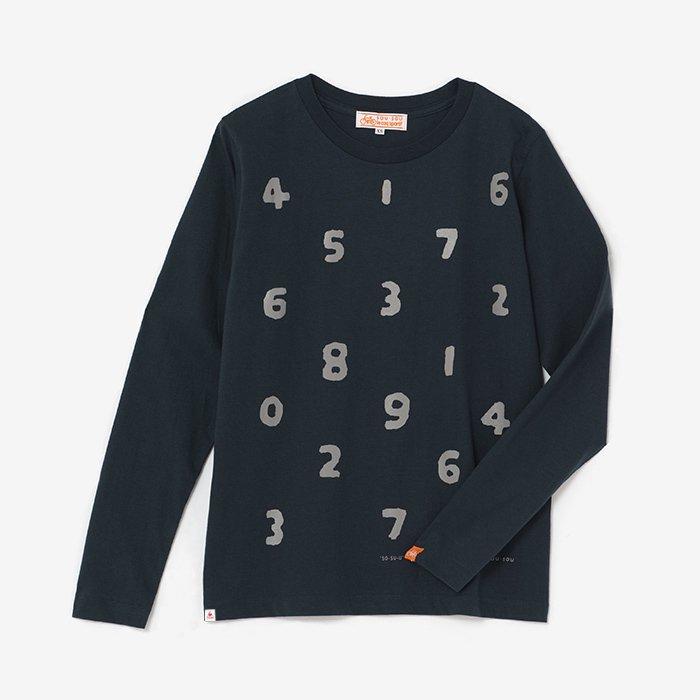 SO-SU-U 長袖Tシャツ/濃紺