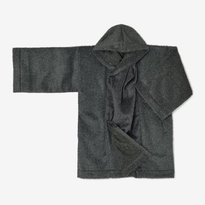 ビーバー 頭巾外套(ずきんがいとう)/杢墨(もくずみ)