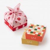 伊藤軒×SOU・SOU/菓子風呂敷包み 紅色(べにいろ)