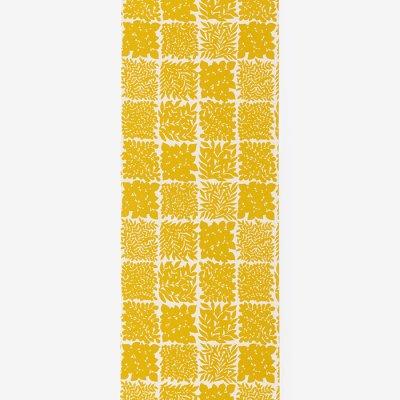 SOU・SOU×京都丸紅 襦袢(反物)/花市松 黄金葉(はないちまつ こがねのは)