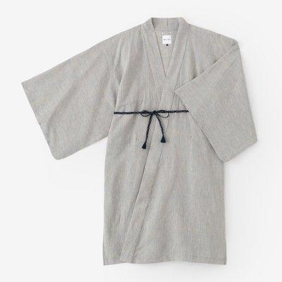 麻 小袖羽織 長丈/薄萌葱(うすもえぎ)