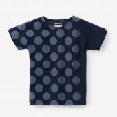 ダンボールニット 型ぬきTシャツ/MBPと余白 濃紺(よはく のうこん)