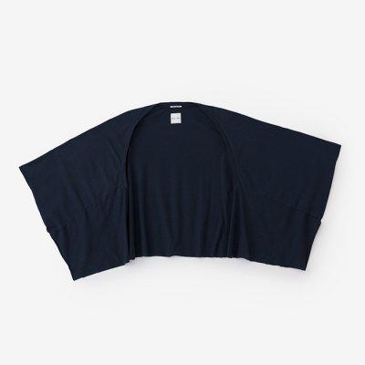 綿モダール むささび 短丈/深紺(しんこん)