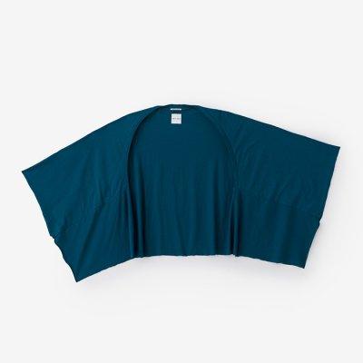 綿モダール むささび 短丈/海緑色(かいりょくしょく)