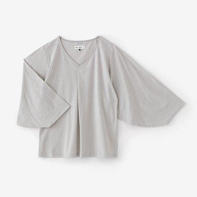 薙刀袖襞(なぎなたそでひだ)ジバン/白花鼠(しらはなねず)