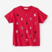 SO-SU-U 四味 半袖Tシャツ/緋色(ひいろ)