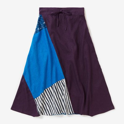 麻 富士/濃紫×東山三十六峰(こきむらさき×ひがしやまさんじゅうろっぽう)