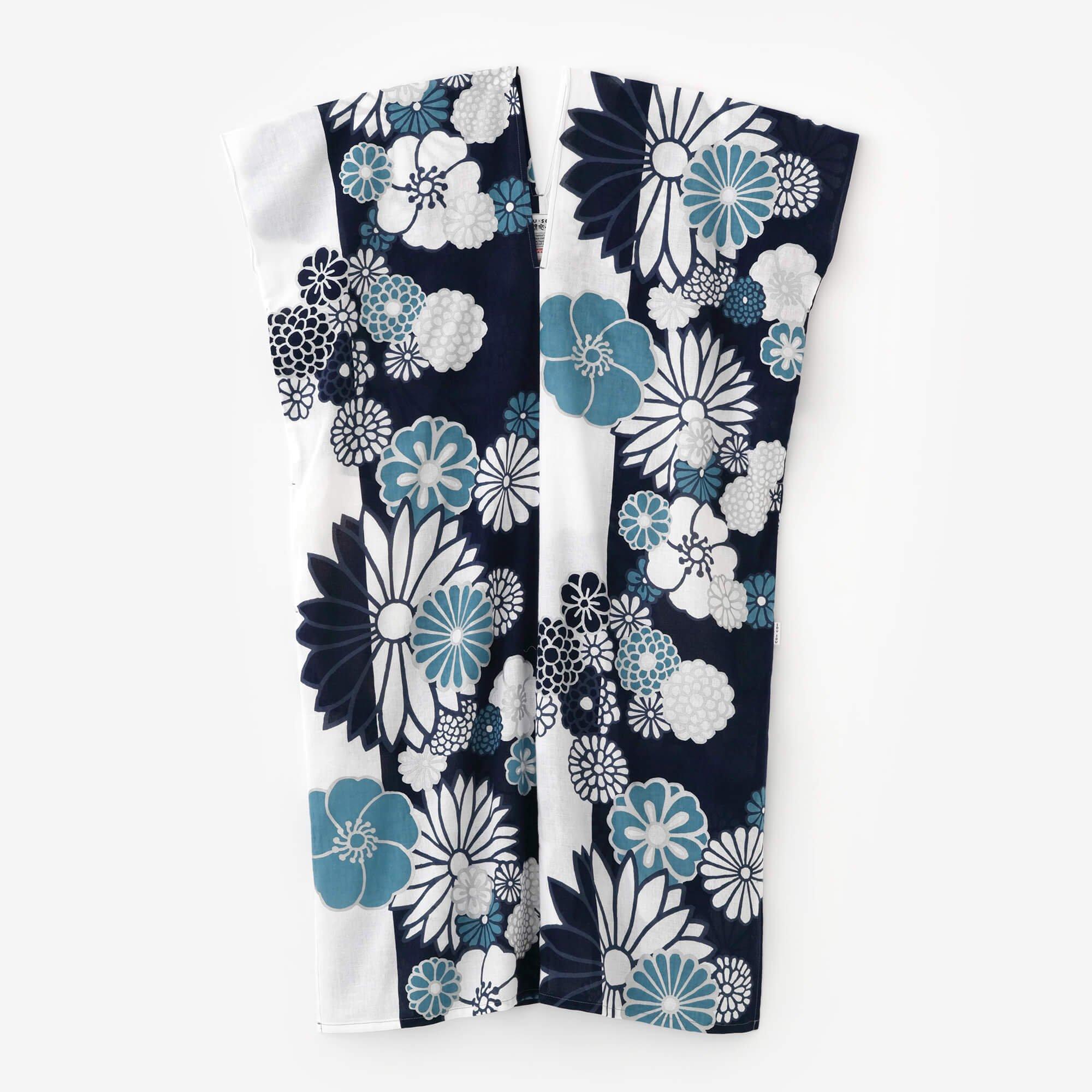 知多木綿 文 長方形衣/金襴緞子 涼(きんらんどんす りょう)