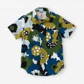 高島縮 半袖シャツ/なごみ