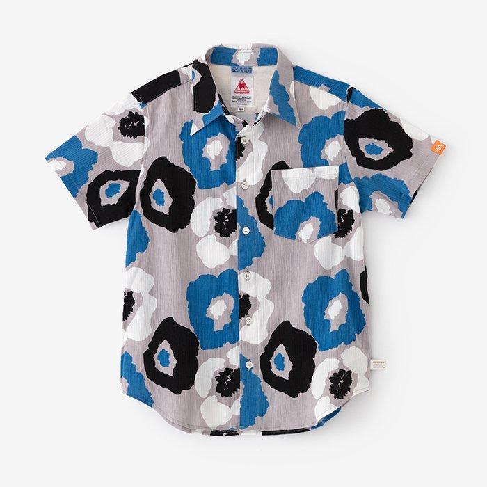 高島縮 半袖シャツ/ゆるやか