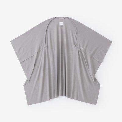 ウォッシャブルウール天竺 むささび/銀灰色(ぎんかいしょく)