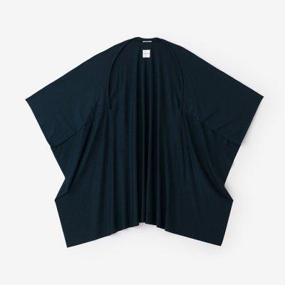 ウォッシャブルウール天竺 むささび/深緑色(しんりょくしょく)