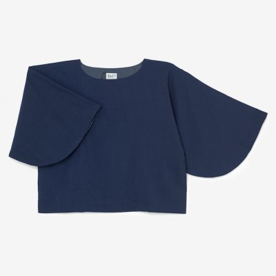 モスリン 薙刀四角衣(なぎなたしかくい)/濃紺(のうこん)