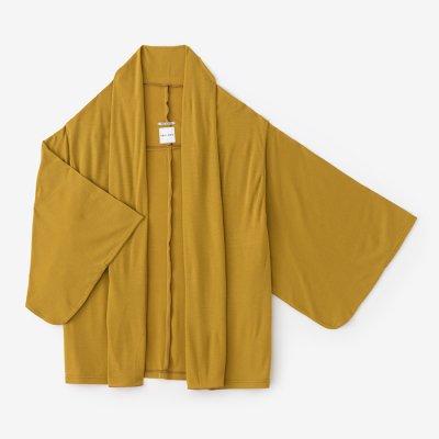 梳毛 両面編 小袖莢(こそでさや)/黄金色(こがねいろ)