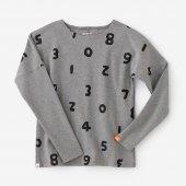 高密度ミラノリブ 型ぬき長袖Tシャツ/SO-SU-U上下 杢灰(しょうか もくはい)