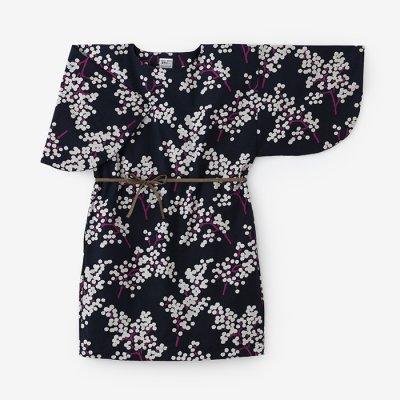 綿麻混 薙刀長方形衣(なぎなたちょうほうけい)/南天(なんてん)