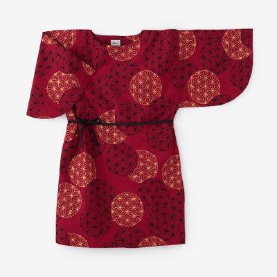 綿麻混 薙刀長方形衣(なぎなたちょうほうけい)/麻(あさ)てまり