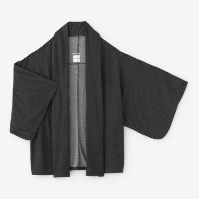 薄裏毛 小袖莢(うすうらけ こそでさや)/消炭色(けしずみいろ)