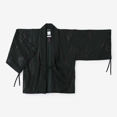 テンセル 宮中袖 短衣 単(きゅうちゅうそで たんい ひとえ)/薄氷破 深緑色(うすらびは しんりょくしょく)