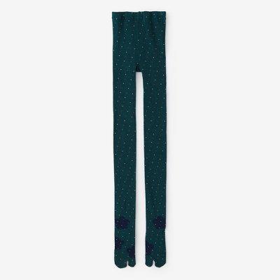 タイツ足袋/立春 深緑色(りっしゅん しんりょくしょく)
