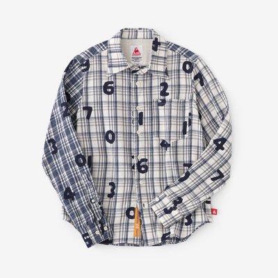 ネルチェックシャツ/SO-SU-U イ