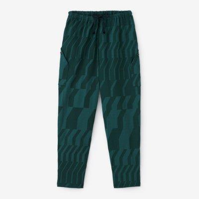綿モダール ポンチローマ BIKEジョードプル/だんだん 深緑色(しんりょくしょく)