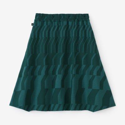 綿モダール ポンチローマ 大文字山/だんだん 深緑色(しんりょくしょく)