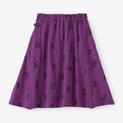 綿モダール ポンチローマ 大文字山/SO-SU-U 濃紫(こきむらさき)