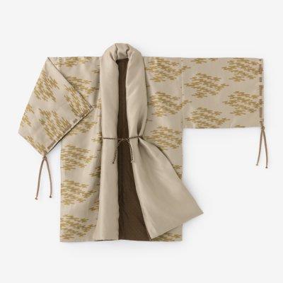 ジャカール 宮中袖 間 袷/朽木雲(くちきぐも)