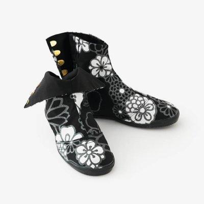 先丸5枚足袋/金襴緞子 夜色(きんらんどんす やしき)