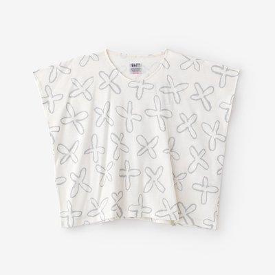 綿麻裏毛 四角衣/すずしろ 乳白色(にゅうはくしょく)