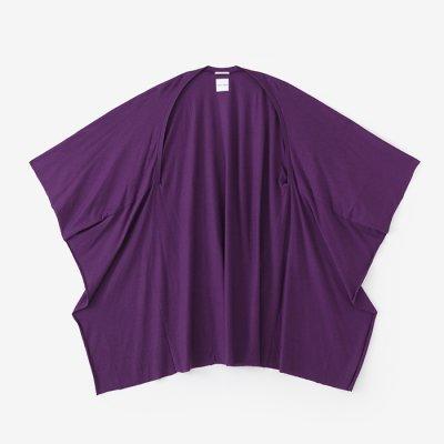 綿モダール むささび/濃紫(こきむらさき)