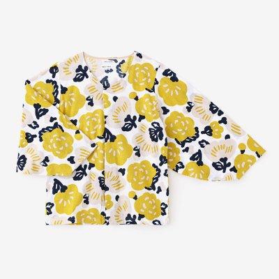 薙刀袖襞(なぎなたそでひだ)ジバン/花っこ