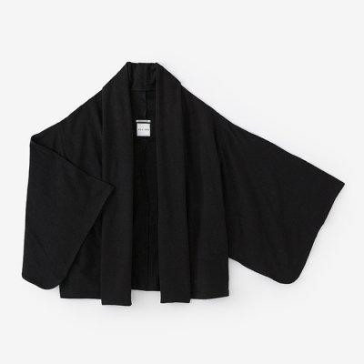 麻 小袖莢 短丈(あさ こそでさや みじかたけ)/濡羽色(ぬればいろ)