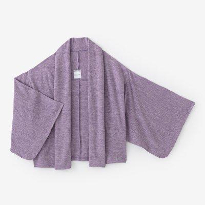 麻 小袖莢 短丈(あさ こそでさや みじかたけ)/藤紫(ふじむらさき)