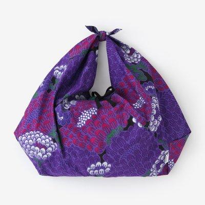 知多木綿 20/20 小巾折 穏(こはばおり おだやか)/けんらん 夜紫(やし)